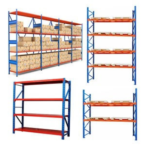 Powder Coating Heavy Duty Metal Steel Stacking Storage Truck Tire Rack for Warehouse #3 image