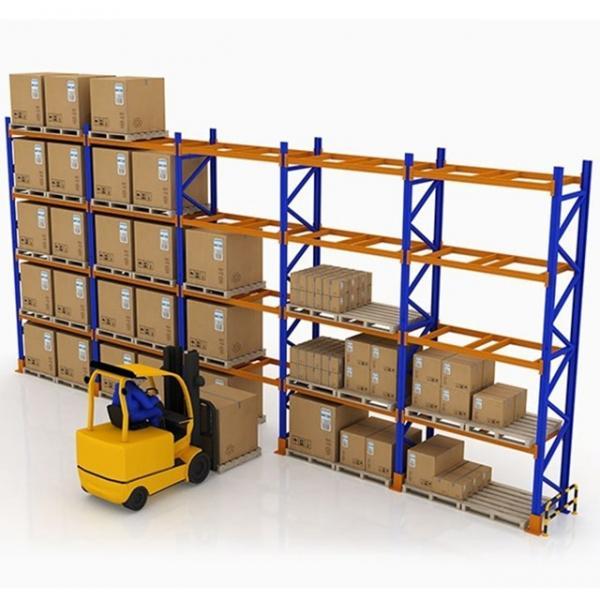 Warehouse Industrial Storage Steel Pallet Carton Gravity Flow Rack with Rollers #1 image